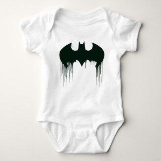 Body Para Bebê Logotipo do símbolo   Spraypaint de Batman
