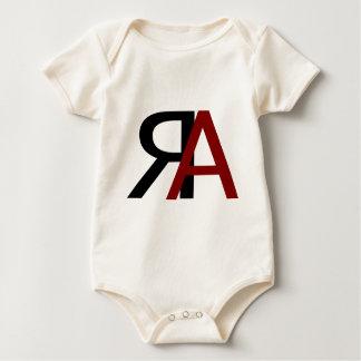 Body Para Bebê Logotipo marcado RA