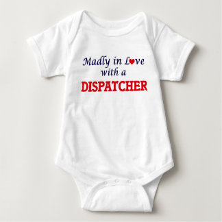 Body Para Bebê Louca no amor com um expedidor