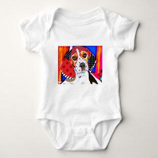 Body Para Bebê Louca por Beagle