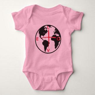 Body Para Bebê LoveGlobe316 - fundo branco