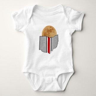 Body Para Bebê Luar de Ohio