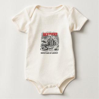 Body Para Bebê Lugar de nascimento de Kentucky Lincolns