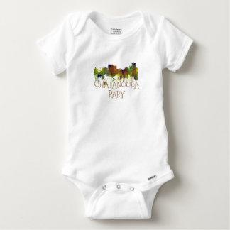 Body Para Bebê Lustre do safari da skyline de Chatanooga