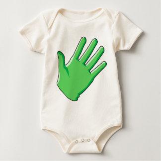 Body Para Bebê Luva