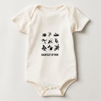 Body Para Bebê luva da dor