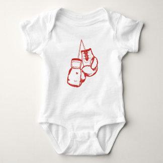 Body Para Bebê Luvas de encaixotamento