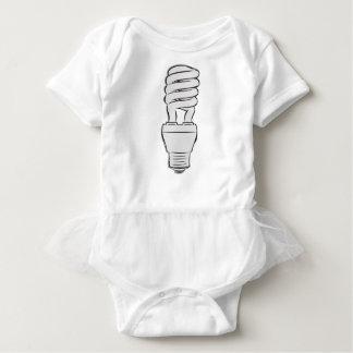 Body Para Bebê Luz de poupança de energia