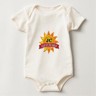 Body Para Bebê luz do jc do mundo