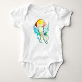 Body Para Bebê luz do sol do elefante