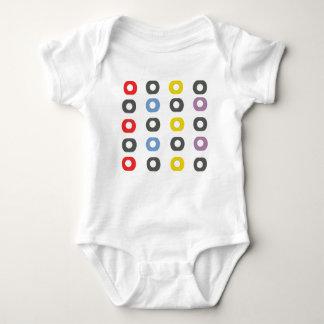 Body Para Bebê Maçã do design
