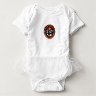 Body Para Bebê Maçã do vermelho do estado de Washington