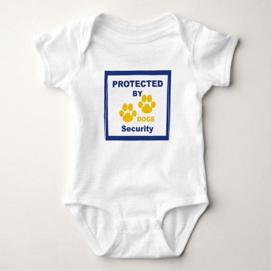 Body Para Bebê Macacão Baby PROTEGIDO POR CÃES