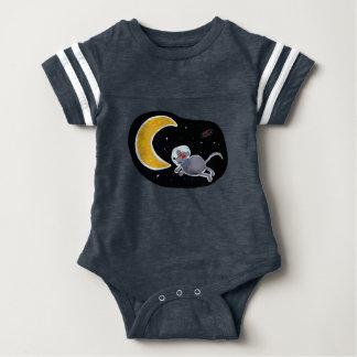 Body Para Bebê Macacão Body Futebol para Bebê - Mouse In Space