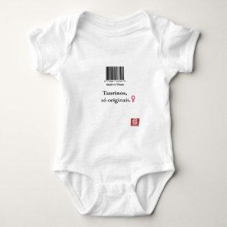 "Body Para Bebê Macacão para bebês: taurinos ""Made in Vênus"""