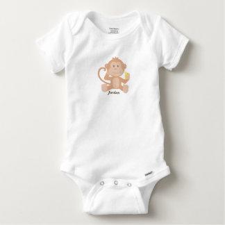 Body Para Bebê Macaco bonito do bebê do bebê