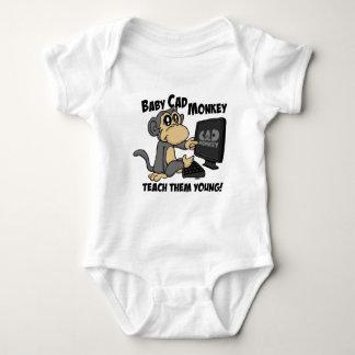 Body Para Bebê Macaco do Cad do bebê
