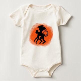 Body Para Bebê Macaco do vôo