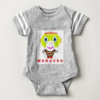 Body Para Bebê Macaco Morocko-Bonito