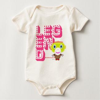 Body Para Bebê Macaco-Morocko Legenda-Bonito