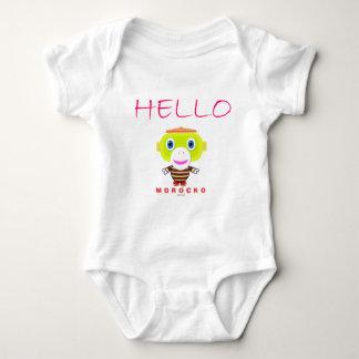 Body Para Bebê Macaco-Morocko Olá!-Bonito