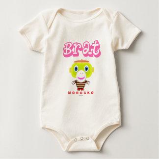 Body Para Bebê Macaco-Morocko Pirralho-Bonito
