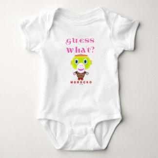 Body Para Bebê Macaco-Morocko Que-Bonito da suposição