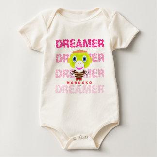 Body Para Bebê Macaco-Morocko Sonhador-Bonito