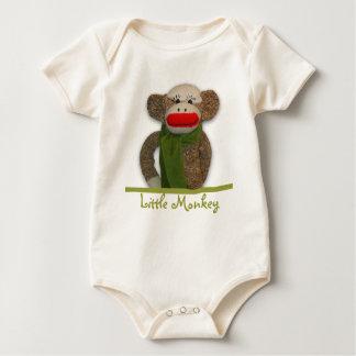 Body Para Bebê Macaco pequeno