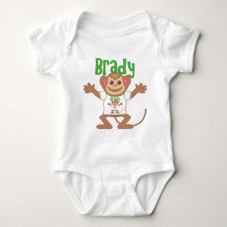 Body Para Bebê Macaco pequeno Brady