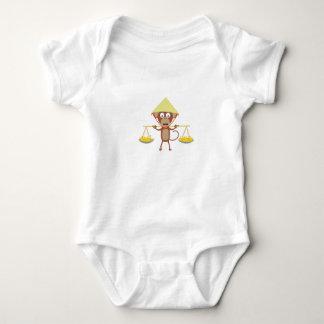 Body Para Bebê Macaco vietnamiano