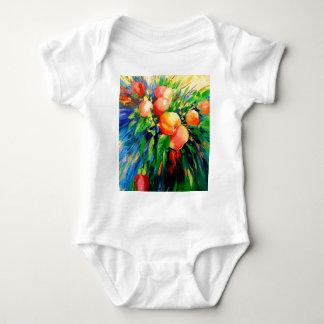 Body Para Bebê Maçãs maduras