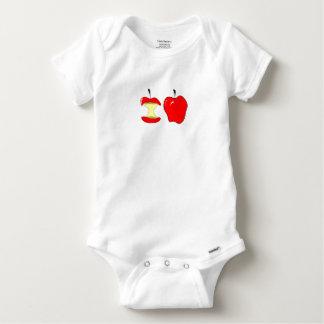 Body Para Bebê maçãs saborosos