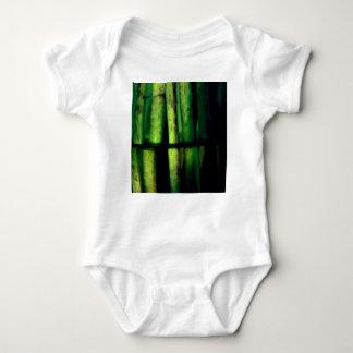 Body Para Bebê Macro verde