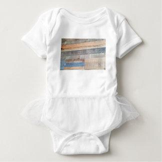 Body Para Bebê Madeira rústica