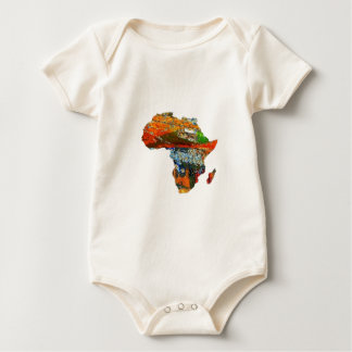 Body Para Bebê Mãe África