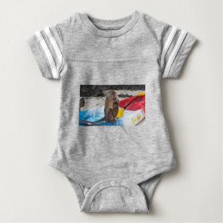 Body Para Bebê Mãe & bebê do macaco