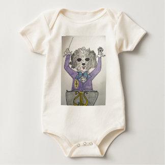 Body Para Bebê Maestros do filhote de cachorro