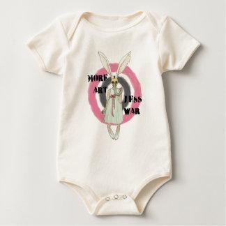 Body Para Bebê Mais arte menos guerra