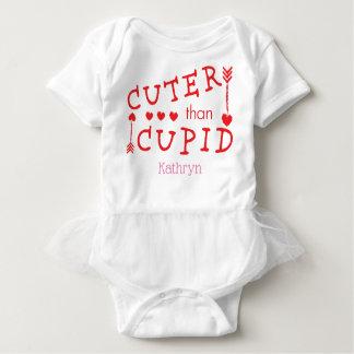 Body Para Bebê Mais bonito customizável do que o dia dos