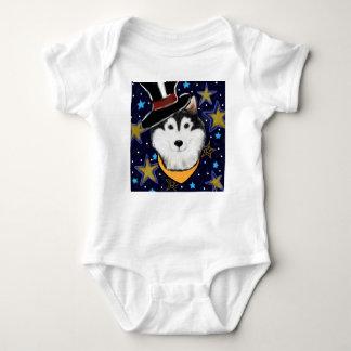 Body Para Bebê Malamute do Alasca de ano novo