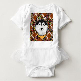 Body Para Bebê Malamute do Alasca do dia dos pais