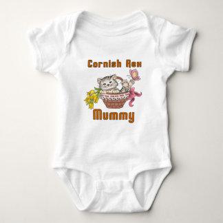 Body Para Bebê Mamã Cornish do gato de Rex