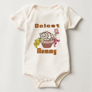 Body Para Bebê Mamã do gato de Ocicat