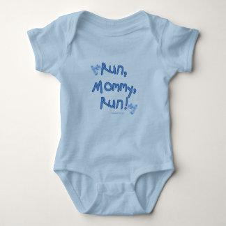 Body Para Bebê Mamães do funcionamento funcionadas - azul