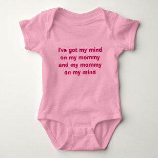 Body Para Bebê Mamães em minha mente