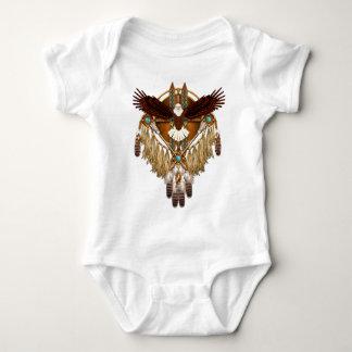 Body Para Bebê Mandala da águia americana - revisada