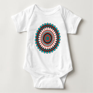 Body Para Bebê Mandala do nativo americano