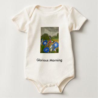 Body Para Bebê Manhã gloriosa