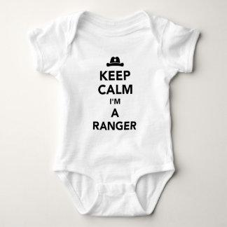 Body Para Bebê Mantenha a calma que eu sou uma guarda florestal